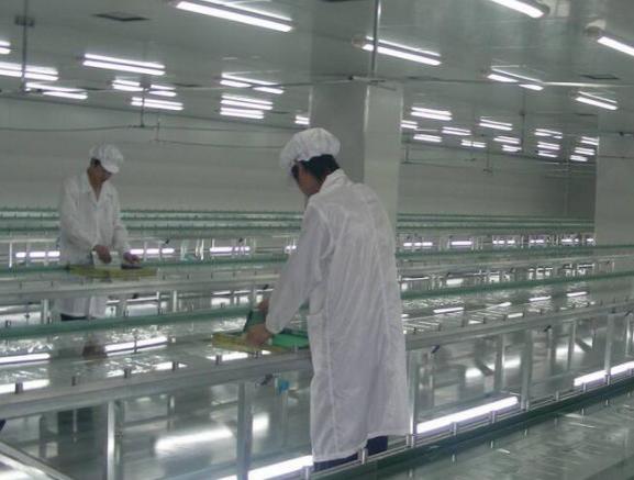 食品净化车间建材的选取与要求