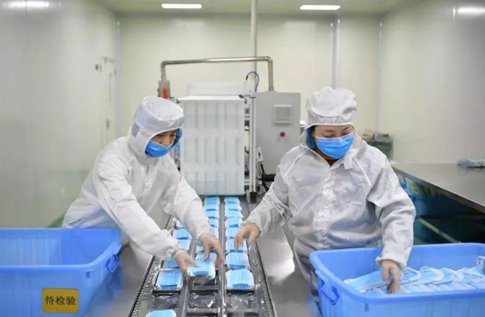 医用口罩生产标准流程与十万级 无尘车间生
